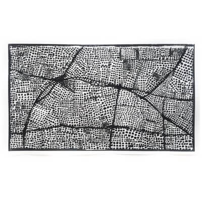 Untitled (Black Routes Panorama) - drawing