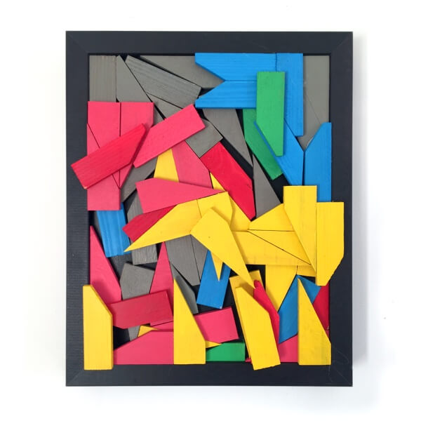 Reclaimed Fragments 2 - affordable art